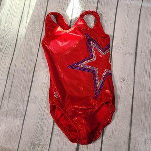 Snowflake Designs Red Star Leotard